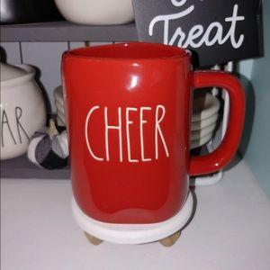 🌲🆕 Rae Dunn Red Cheer Christmas Coffee Tea Mug
